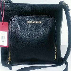 Black Handbag W/ Gold Detailing